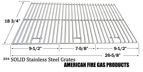 Cooking Grid for Charbroil 463210310, 463210511, BBQ Pro BQ05041-28, BQ51009 IGS IGS-2504 and Outdoor Gourmet BQ06043-1, BQ06WIC, Set of 3