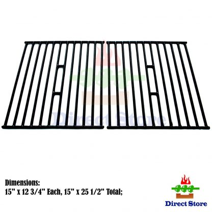 Direct store Parts DC112 Porcelain Cast Iron Cooking grid Replacement Broil King, Broil-Mate, Huntington, Silver Chef ,Sterling Gas Grill