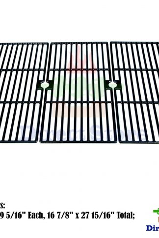 Direct store Parts DC121 Porcelain Cast Iron Cooking grid Replacement Charbroil, Kenmore, Master Chef Gas Grill