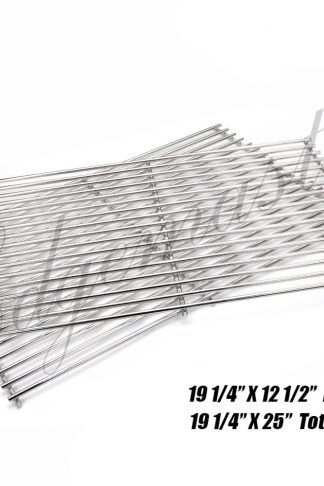 Edgemaster BBQ Stainless Steel Wire Cooking Grid Replacement Parts Models for Select Brinkmann, Charmglow, Jenn-Air 720-0511 ; Nexgrill 720-0057 and Turbo Gas Grill Models
