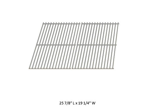 GrillWorld Inc Perfect Glo Replacement Stainless Steel Cooking Grate 2446 (Set of 2)
