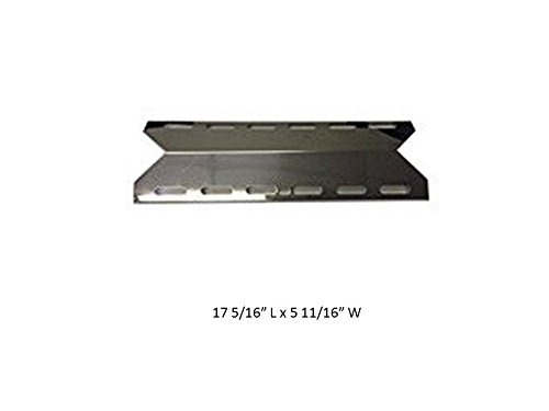 GrillWorld Inc Perfect Glo Replacement Stainless Steel Heat Plate 8654