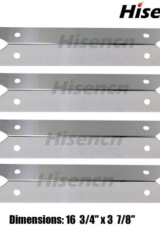Hisencn SP7311 (4-pack) Stainless Steel Heat Plate for Brinkmann, Charmglow Models Grills