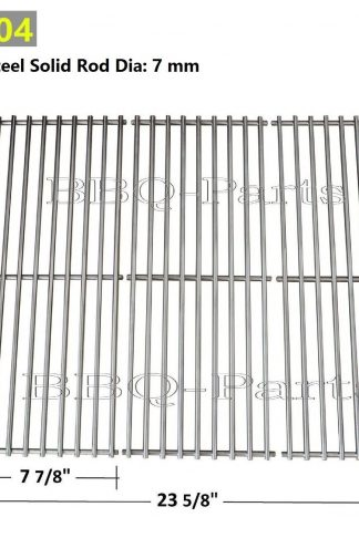 Hongso SCS531(3-pack) BBQ Stainless Steel Wire Cooking Grid Replacement for Select Gas Grill Models by Nexgrill, Perfect Flame and Others