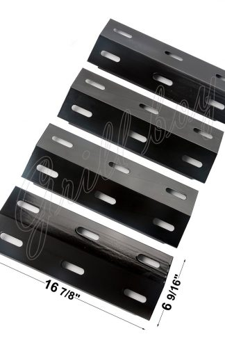 LTH41(4-pack) Porcelain Steel Heat Plate Replacement for Select Ducane Gas Grill
