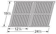 Music City Metals 565S2 Stamped Stainless Steel Cooking Grid Replacement for Select Ducane Gas Grill Models, Set of 2