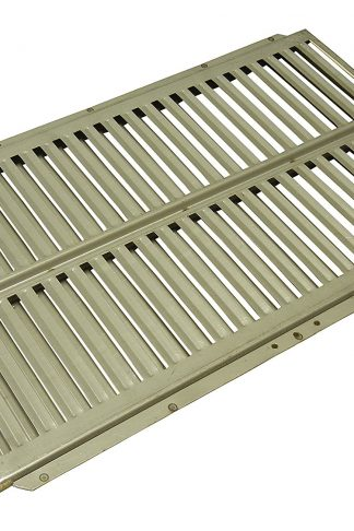 Music City Metals 99831 Stainless Steel Heat Plate Replacement for Select Ducane Gas Grill Models
