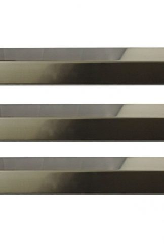 Onlyfire Stainless Steel Flavorizer Bar Heat Plate Replacement for Chargriller Gas Grill Models 3001, 4000, 5050 (3-pack)