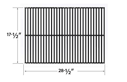 Porcelain Steel Cooking Grid Replacement for Turbo 4-burner Gas Grill Model