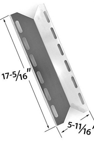 Replacement Heat Shield for Charmglow 720-0125, Kirkland 720-0025, Jenn-Air 740-0141, 740-0142 Nexgrill 720-0018, 720-0033, and Perfect Glo PG-50401S Model Grills