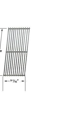 Stainless Cooking Grids For BBQTEK, Chargriller, BOND, Jenn Air JA460, JA461, JA461P and Vermont Castings CF9050, CF9085, CF9085 3A, Gas Grill Models