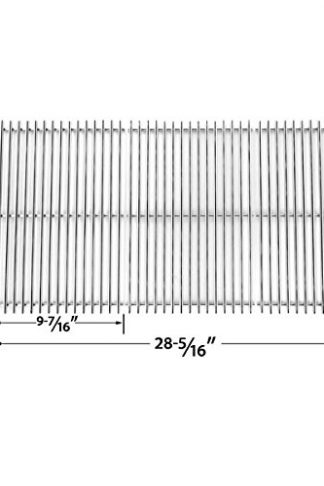 Stainless Steel Cooking Grid Replacement for Charbroil, Henderson, Master Chef and Outdoor Gourmet Gas Grill Models
