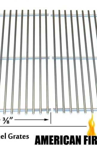 Stainless Steel Cooking Grid for Ducane 3200, 3073101, 31421001, Afinity 3200, Affinity 3300, Affinity 3400, Affinity 4100, 4100, Affinity 4200, Gas Grill Models, Set of 2