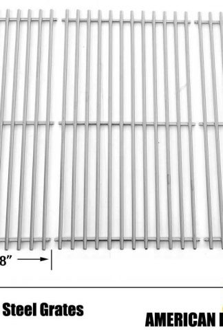 Stainless Steel Cooking Grid for Kirkland 720-0193, 720-0432, Ducane 30400042, 30400043, 3040042 & Jenn-Air 720-0512, 730-0337, 740-0141, 720-0337 Gas Models, Set of 3