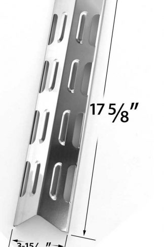 Stainless Steel Heat Plate for BOND GSS2520JA, BroilChef GSS2520JA, 06695002, GSS2520JAN, 06695007 & Presidents Choice 10011012, GSS2520JAN, PC10011012 Gas Grill Models