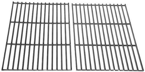 Stainless Steel Replacement Cooking Grid for Select Gas Grill Models by Arkla, Charmglow, Life@Home, Perfect Flame, Turco, Sunbeam, Great Outdoors and BBQ Grillware, Set of 2