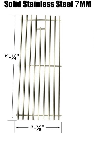 Stainless Steel Replacement Cooking Grid for Select Gas Grill Models by Turbo, Nexgrill, Perfect Flame and Others