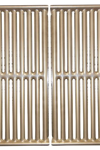Stamped stainless steel cooking grid