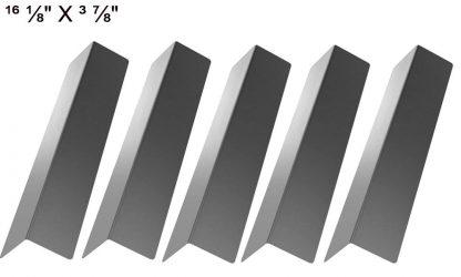 Uniflame GBC873W, Bond GSF2818KH & Master Forge B10LG25, SLG2007D (5-PACK) Stainless Steel Heat Shield