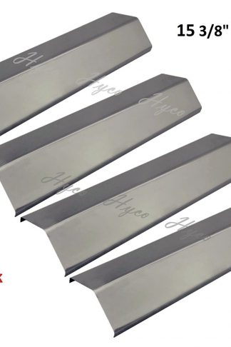 Vicool BBQ Gas Grill Heat Plate Stainless Steel Heat Shield for Grill King, Aussie, Charmglow, Brinkmann, Uniflame, Lowes Model Grills, hyJ231A (4-pack)