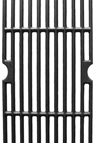 Vicool HyG876C Cast Iron Cooking Grid Replacement for Select Gas Grill Models by Charbroil, Kenmore and Others, Set of 3