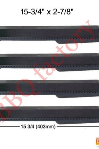 bbq factory K23301(4-pack) Cast Iron Burner for Turbo, Aussie, and Sams Grills