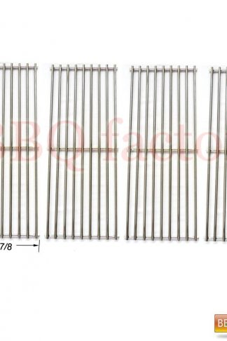 bbq factory Stainless Steel Wire Cooking Grid JCX531(4-pack) Replacement for Select Gas Grill Models by Nexgrill, Perfect Flame and Others