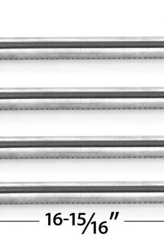 4 Pack Replacement Stainless Steel Burner for Kirkland 720-0193, 720-0607, Perfect Flame 720-0335, 720-0522, Sterling Forge 720-0322 and Nexgrill 720-0286, 720-0294 Gas Grill Models