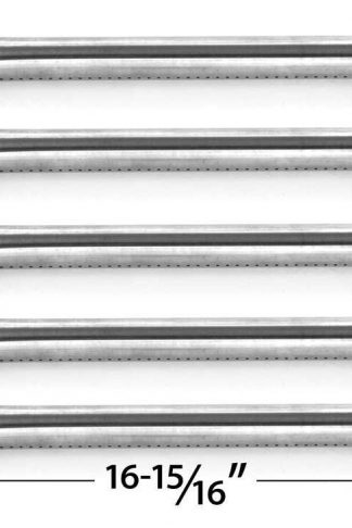 5 Pack Stainless Steel Burner for Kirkland 720-0193, 720-0607, Perfect Flame 720-0335, 720-0522, Sterling Forge 720-0322 and Nexgrill 720-0286, 720-0294 Gas Grill Models