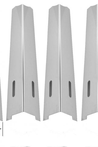 5 Pack Stainless Steel Heat Shield for BBQ Grillware GGPL-2100, GSC2418N, GSC2418, 164826, 102056, Jenn-air 720-0709, 720-0720, 730-0709, 720-0727 and Nexgrill Gas Grll Models
