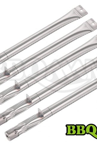 BBQMANN BC411 (5-pack) Stainless Steel Straight Burner for Lowes BBQ Grillware, Charmglow, North American Outdoors and Perfect Flame