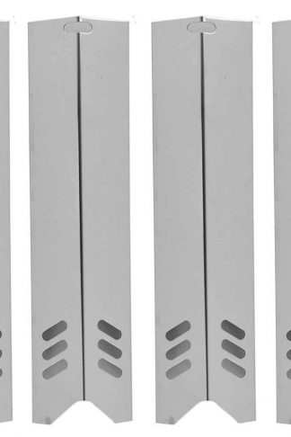 BHG BH13-101-001-01, GBC1362W, GBC1059WB & Phoenix KS10002 (4-PACK) Stainless Steel Heat Shield