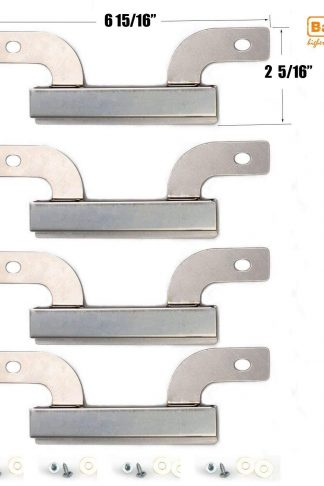 "Bar.b.q.s 09429 Stainless Steel Burner Replacement for Gas Grill Models Brinkmann 810-1750-S and Brinkmann 810-9520-S(6 15/16"" x 2 5/16"" 4PACK)"