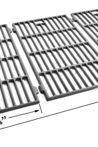 Cast Grates For Kitchen Aid Models : 720-0727, 720-0745, 720-0745A, 720-0819 & Life@Home PH603SB Gas Grill Models, Set of 3