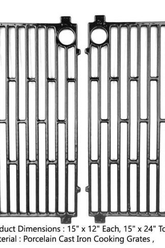 Cast Iron Grates For Arkla 4000U, Charbroil G20601A, Charbroil G20602A, Kenmore 2357651, Kenmore 2357660 Gas Models, Set of 2