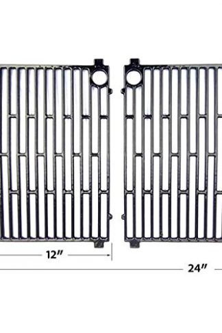 Charmglow GE400617, GF400517, GF400617, GP304-35L, GR2020-A, GR2020-L1, GRB40-EL1, GRB40-GL Gloss Cast Iron Cooking Grid, Set of 2