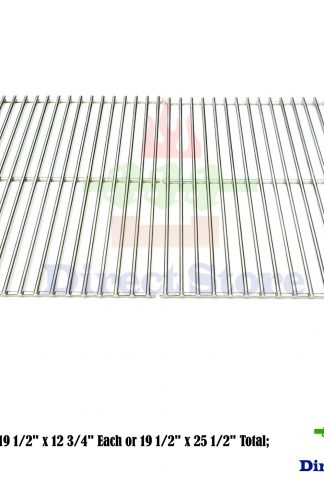 Direct store Parts DS106 Solid Stainless Steel Cooking grids Replacement DCS Models: 27, 27DBQR, 27DBR, 27DSBQ, 27DSBQR, 27FSBQ, 27FSBQR, BGA27-BQ, BGA27-BQR; Uniflame : NSG3902B, Gas Grill