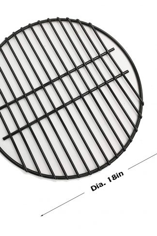"Dracarys 18"" Porcelain Coated Steel Wire Grill Grates Cooking Grate,Big Green Egg Accessories Grill Accessories Dome Grill Grate Grid Fit For LARGE Big Green Egg Kamado Stove And Other 18 inch Grills"