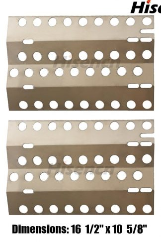 "Edgemaster BBQ Replacement Stainless Steel Heat Plate Replacement for Select DCS Gas Grill Models ( 161/2"" x 10 5/8"")"