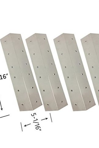 Grill Parts Zone Aussie 8462-8-MR1, Brinkmann 4040, 810-4040, 810-4345, Brinkmann 4345 (4-PK) Stainless Heat Shield