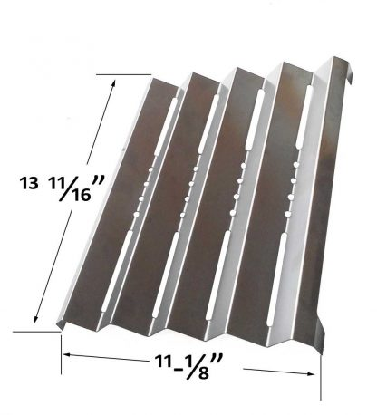 Grill Parts Zone Brinkmann Pro Series 4415, 810-4415-E & Kenmore 141.15220, 141.15221, 141.152210, 141.15222, 141.15223 Stainless Heat Shield