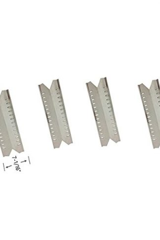 Grill Parts Zone Master Forge 30030MSF & Fiesta EZH30035B402, EZH30040B301 (4-PK) Stainless Heat Shields