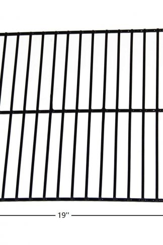 Hongso PCW002 Porcelain Steel Wire Cooking Grid Replacement for Arkla, Broilmaster, Charbroil, Charmglow, Kenmore Gas Grill Models (19'' x 11 3/4'')