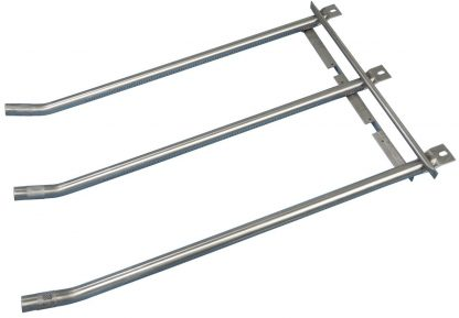 Music City Metals 13643 Stainless Steel Burner Replacement for Select Altima Gas Grill Models
