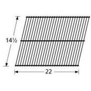 Music City Metals 41301 Chrome Steel Wire Cooking Grid Replacement for Select Gas Grill Models by Arkla, Charmglow and Others