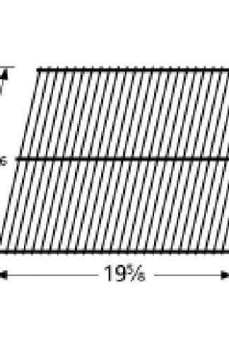 Music City Metals 50301 Porcelain Steel Wire Cooking Grid Replacement for Select Gas Grill Models by Arkla, Charmglow and Others