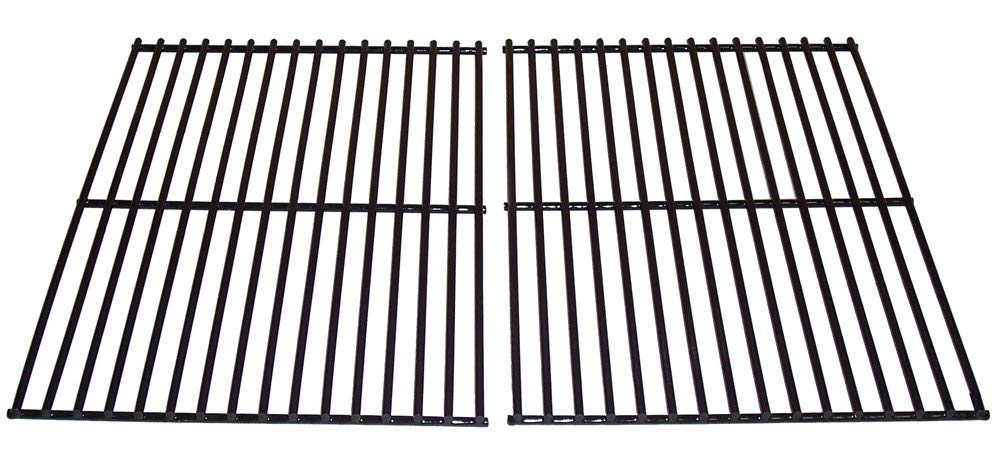 Music City Metals 52802 Porcelain Steel Wire Cooking Grid Replacement for Select Gas Grill Models by Arkla, BBQ Grillware and Others, Set of 2