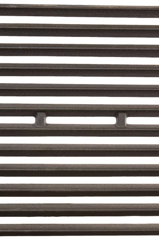 Music City Metals 63262 Matte Cast Iron Cooking Grid Replacement for Select Broil King and Sterling Gas Grill Models, Set of 2