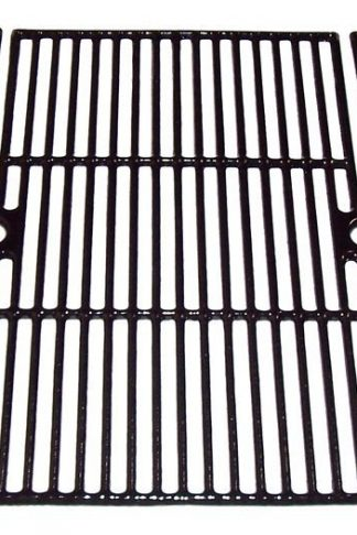 Music City Metals 67413 Gloss Cast Iron Cooking Grid Set Replacement for Select Brinkmann and Charmglow Gas Grill Models
