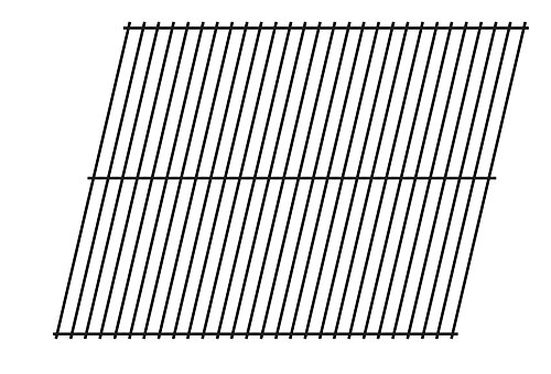 Music City Metals 90801 Steel Wire Rock Grate Replacement for Select Gas Grill Models by Arkla, Charbroil and Others